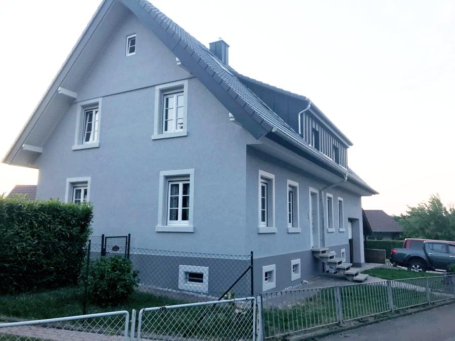 Maler Hauser Bühl Fassadenarbeiten Anstrich