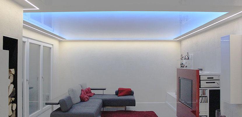 spanndecken von ciling led lichtkanal. Black Bedroom Furniture Sets. Home Design Ideas