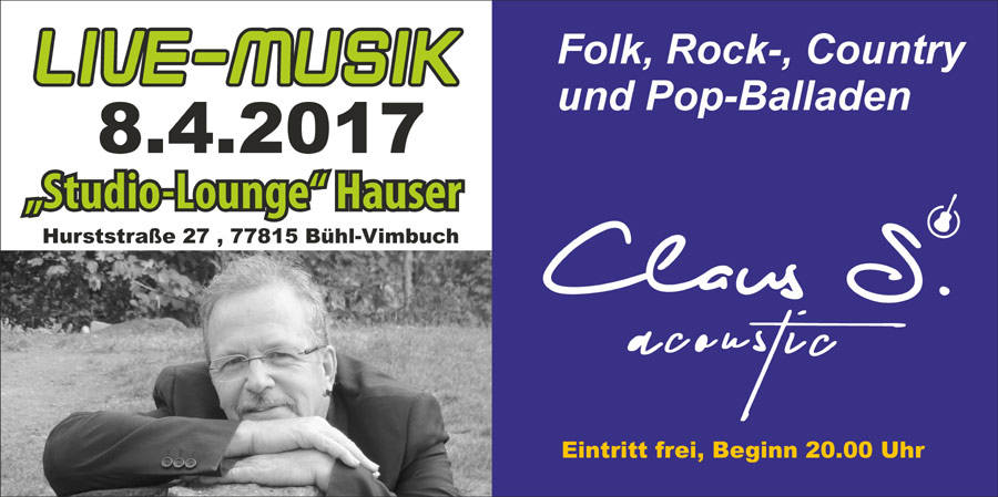 Veranstaltung Buehl Hauser Birgit und Rainer