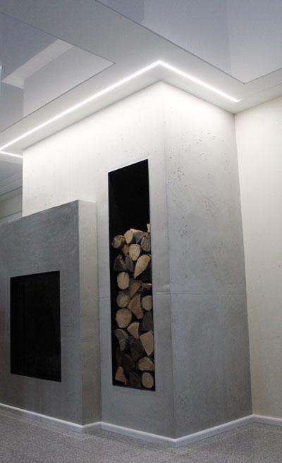 LED Lichtkanal Maler Hauser Bühl / Baden