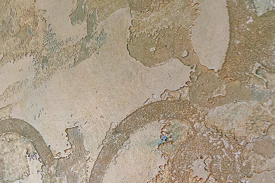 Maler-Hauser-Buehl-Kalkputz mit Goldeffekt