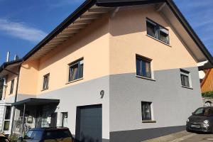 Maler-Hauser-Fassadengestaltung