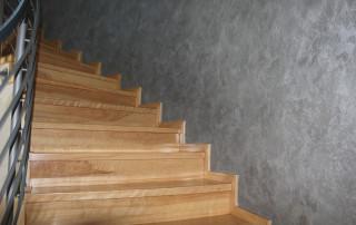 Maler-Hauser-Treppenhaus-Bühl