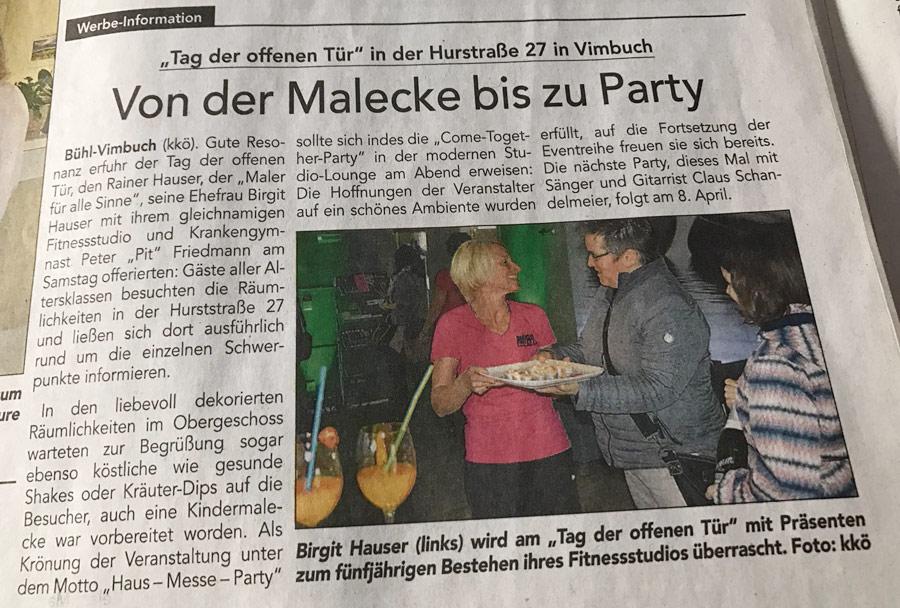 Zeitung Bühl